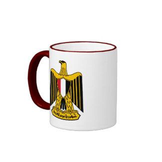 egypt emblem ringer mug