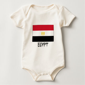 Egypt Flag Baby Bodysuit
