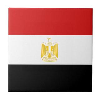 Egypt Flag Ceramic Tile