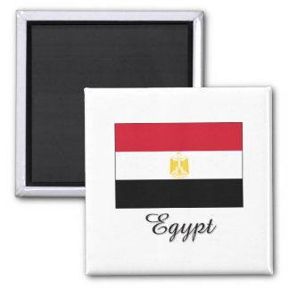 Egypt Flag Design Fridge Magnet