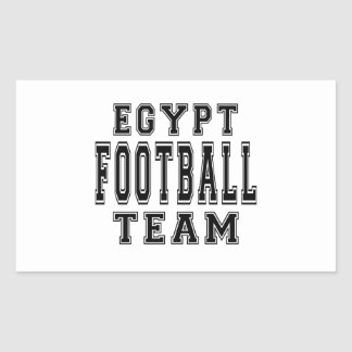 Egypt Football Team Rectangular Sticker