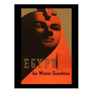 Egypt For Winter Sunshine Postcard