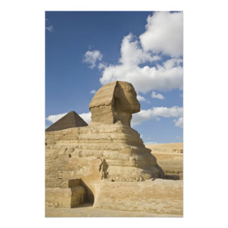 Egypt, Giza. The great Sphynx rises above the Art Photo