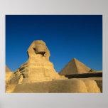 Egypt, Giza, The Sphinx, Old Kingdom, Unesco Poster