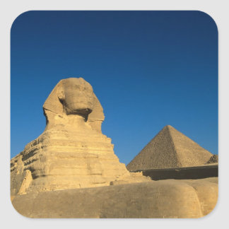 Egypt, Giza, The Sphinx, Old Kingdom, Unesco Square Sticker