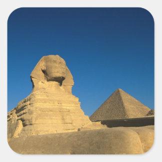Egypt, Giza, The Sphinx, Old Kingdom, Unesco Square Sticker
