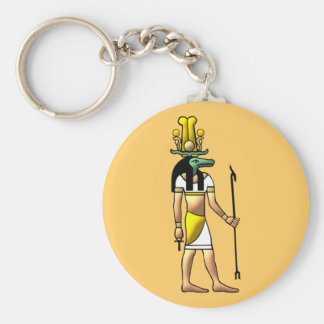 Egypt God Sobek egypt god Key Ring