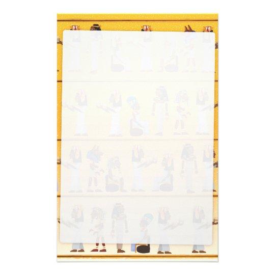 Egypt Hieroglyphs Stationery