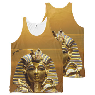 Egypt King Tut All-Over Print Tank Top