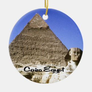 Egypt, Land of Mystery Christmas Ornament