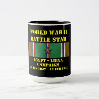 Egypt - Libya Campaign Two-Tone Coffee Mug
