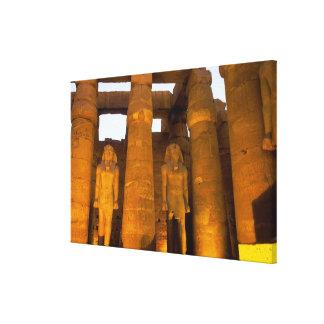 Egypt, Luxor.  Karnack Temple. Canvas Print