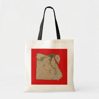 Egypt Map Bag