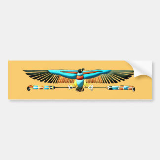 Egypt Nechbet protection symbol egypt protection Bumper Sticker