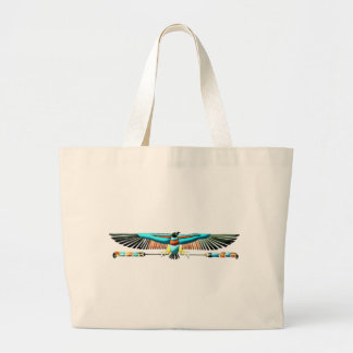 Egypt Nechbet protection symbol egypt protection Large Tote Bag