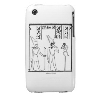 Egypt Panel Case iPhone 3 Case-Mate Cases