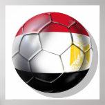 Egypt Pharoahs Soccer fans gear Poster