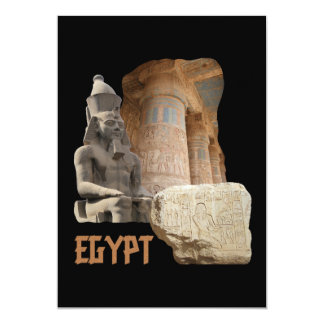 EGYPT photo collage invitation