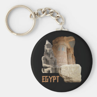 EGYPT photo collage keychain