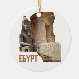 EGYPT photo collage ornament