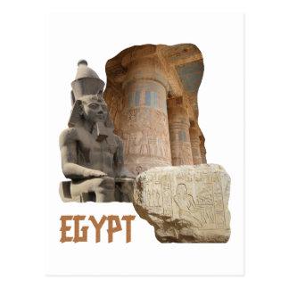 EGYPT photo collage postcard