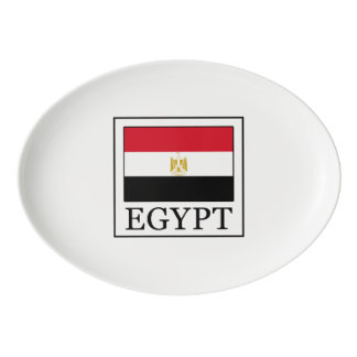 Egypt Porcelain Serving Platter