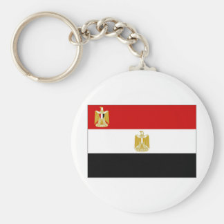 Egypt President Flag Keychain
