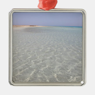 Egypt, Red Sea, Marsa Alam, Sharm El Luli, Beach 2 Christmas Ornament