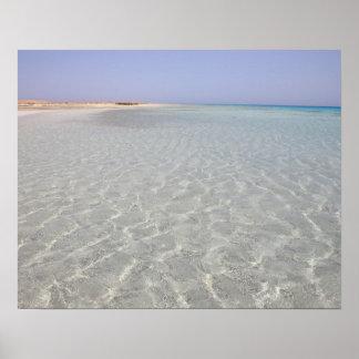 Egypt, Red Sea, Marsa Alam, Sharm El Luli, Beach 2 Poster