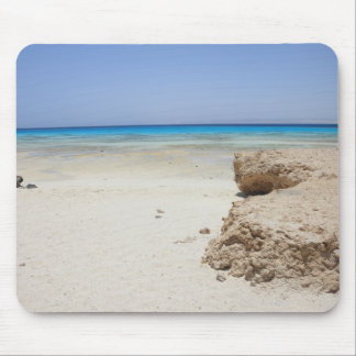 Egypt, Red Sea, Marsa Alam, Sharm El Luli, Beach Mouse Pad