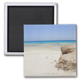 Egypt, Red Sea, Marsa Alam, Sharm El Luli, Beach Square Magnet