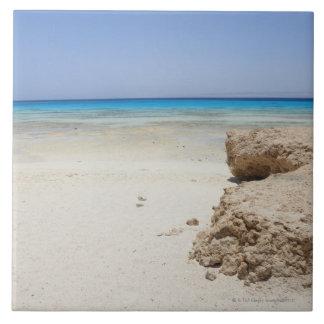 Egypt, Red Sea, Marsa Alam, Sharm El Luli, Beach Tile