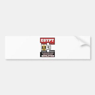 Egypt Revolution Bumper Sticker