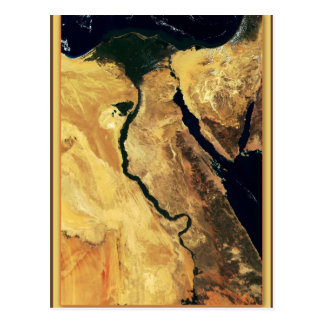Egypt s Nile River from outer space Postcards