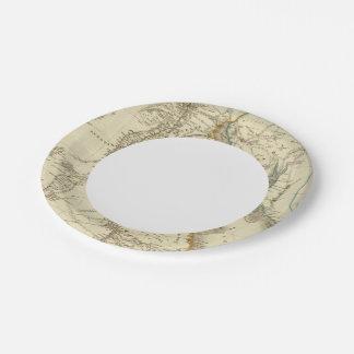 Egypt, Saudi Petree 7 Inch Paper Plate