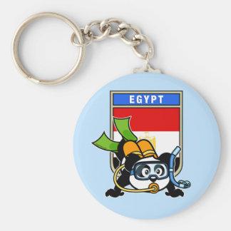 Egypt Scuba Diving Panda Key Ring