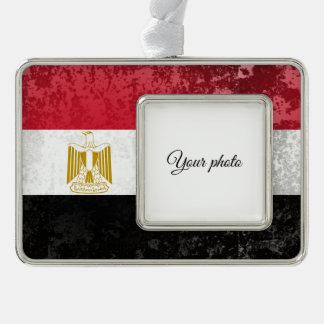 Egypt Silver Plated Framed Ornament