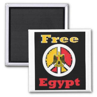 Egypt Square Magnet