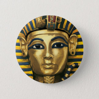 Egypt -Tutankhamun 6 Cm Round Badge