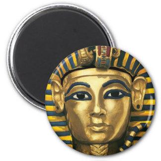 Egypt - Tutankhamun 6 Cm Round Magnet