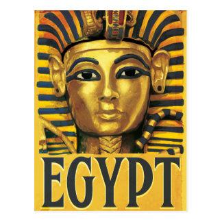 Egypt -Tutankhamun Postcard