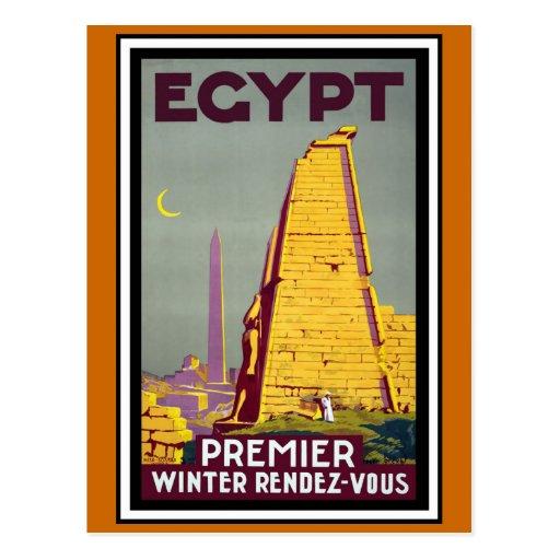 Egypt Vintage Travel Postcard