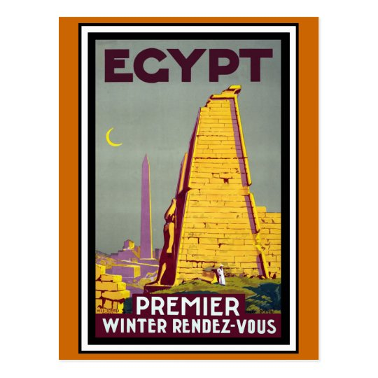 Egypt Vintage Travel Postcard
