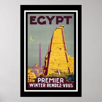 Egypt Vintage Travel Poster