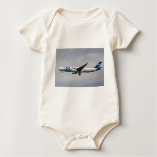 Egyptair Airbus A330 Baby Bodysuit