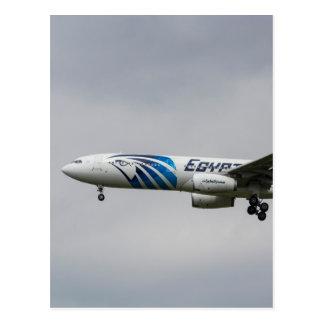 Egyptair Airbus A330 Postcard