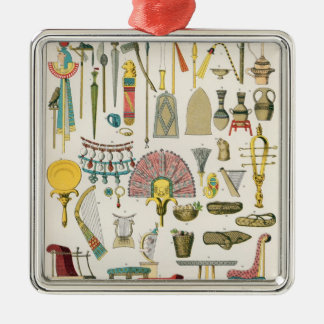 Egyptian Accessories, from 'Trachten der Voelker' Christmas Ornament