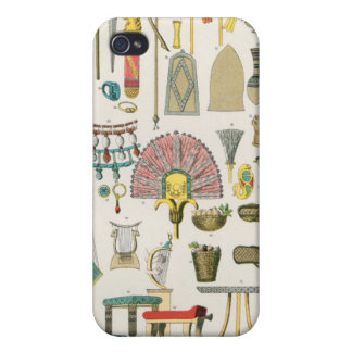 Egyptian Accessories, from 'Trachten der Voelker' Cover For iPhone 4