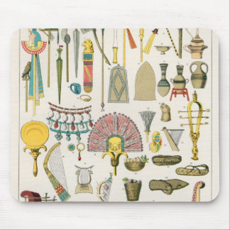Egyptian Accessories, from 'Trachten der Voelker' Mouse Mat