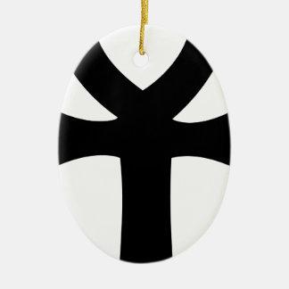 Egyptian Ankh Christmas Ornament